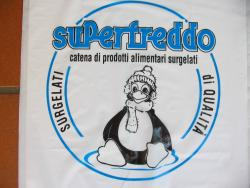 SuperFreddo plastic bag - detail