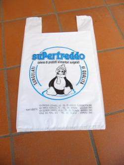 SuperFreddo plastic bag
