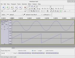 Test of the GStreamer interleave element