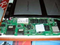 Teclast X98 Air 3G, mainboard