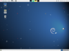 Gnome 3 fall-back mode rethemed to have a light panel